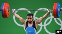 Ниджат Рахимов на Олимпийских играх в Рио. Август 2016 года.