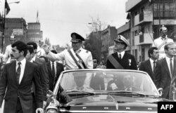 Аугусто Пиночет в Сантьяго. 11 сентября 1973 года