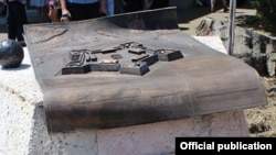 Снесенный в Адлере памятный монумент подвигу русских солдат
