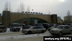 Территория и здание автовокзала в Астане. 22 января 2013 года.
