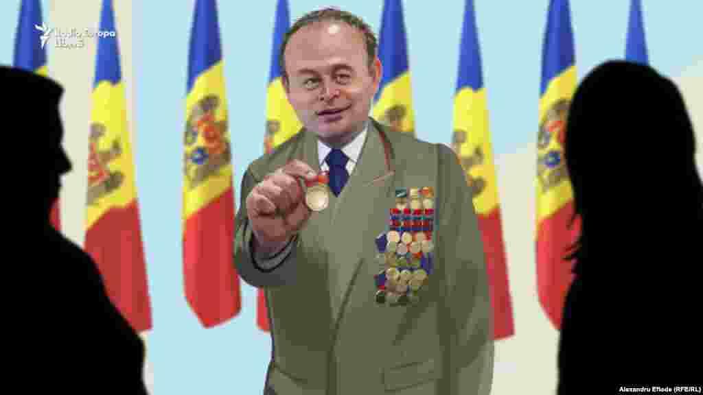Spicherul Andrian Candu a inaugurat o tradiție nouă a acordării de medalii din partea Parlamentului.