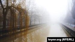 Туман у Криму