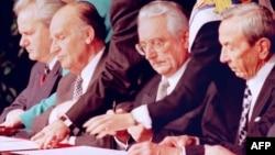 Potpisivanje Daytonskog sporazuma, 21. novembar 1995.