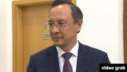 Қайрат Әбдірахманов, Қазақстан сыртқы істер министрі. Астана, 7 тамыз 2018 жыл.