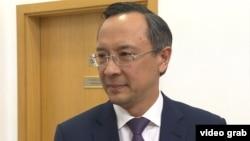 Қайрат Әбдрахманов, Қазақстан сыртқы істер министрі.