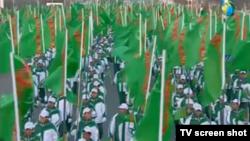 Döwletiň guramaçylygyndaky sport çäresi, Türkmenistan