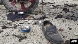 Чевел на една од жртвите во нападот во авганистанската покраина Хост.