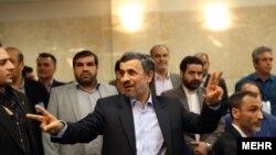 Former president Mahmoud Ahmadinejad