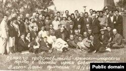 Активісти кримськотатарського національного руху