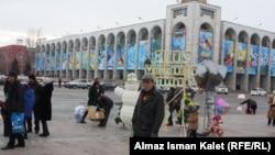 Бишкек. Центральная площадь Ала-Тоо