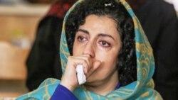گزارش نوشین سیدحسینی در مورد وضعیت سلامتی نرگس محمدی در گفتوگو با همسر وی تقی رحمانی
