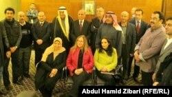 أعضاء الوفد الصحفي والإعلامي الكويتي في أربيل