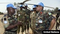 Војници на заедничката мисија на ОН и Африканската унија.