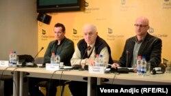 Sa konferencije za novinare Transparentnost Srbija o korupciji