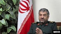 Иран революциялық гвардиясының қолбасшысы генерал Мохаммед Әли Жафари.