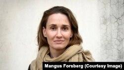 "Swedish Journalist Jenny Nordberg, author of ""The Underground Girls of Kabul."""