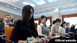 Кыргызстандык журналисттер
