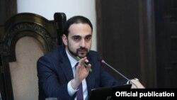 Вице-премьер, комендант Армении Тигран Авинян