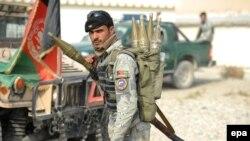 Архивска фотграфија- Авганистански полицајци во провинцијата Нангархар