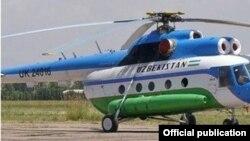 Вертолет МИ-171. Фото взято с веб-сайта uz24.uz.