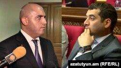 Армен Ашотян (справа) и Грачья Акопян