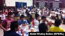 حفل خيري في جامة دهوك للأطفال الأيتام