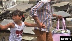 Prizori iz Alepa 3. maja 2016.