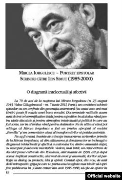 """Pagină din revista """"Familia"""" de la Oradea"""