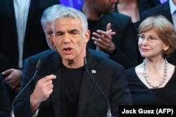 """Yair Lapid, lider al partiudului de centru """"Yesh Atid"""""""