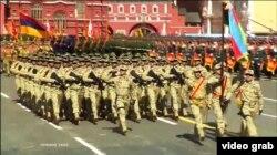 Moskvada Qələbə paradı, 9 may, 2015