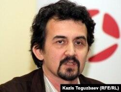 Рустам Бурнашев, социолог. Алматы, 2 ноября 2011 года.