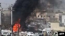 Ирактағы жарылыс. 13 қазан 2013 жыл. (Көрнекі сурет)