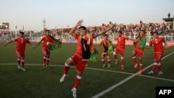 Futbollistët e kombëtares së Afganistanit (Ilustrim)