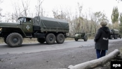 Військова техніка проросійських сепаратистів, архівне фото