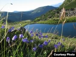 Озеро Чорногори в Українських Карпатах