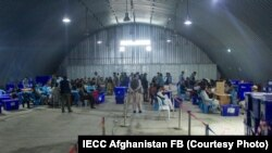 مرکز شمارش و تفتیش آرای کمیسیون مستقل انتخابات افغانستان