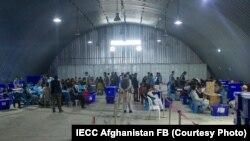 جریان بازشماری آرا در مرکز کمیسیون انتخابات افغانستان