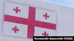 Флаг Грузии, иллюстративное фото