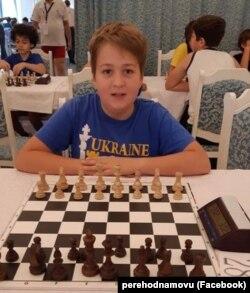 Юний український шахіст Роман Ковальський