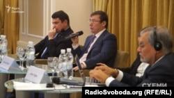 Директор НАБУ Артем Ситник та генеральний прокурор Юрій Луценко