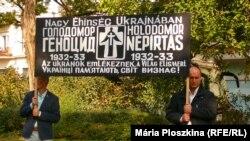 Вшанування пам'яті жертв Голодомору-геноциду в Україні 1932–33 років. Будапешт, 7 жовтня 2018 року