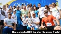 У Києві відсвяткували «Олімпійський день»