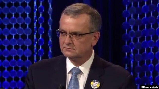Лідер чеської опозиції, голова партії TOP 09 Мірослав Калоусек
