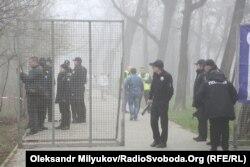 Посилення заходів безпеки в Одесі, 10 квітня 2018 року
