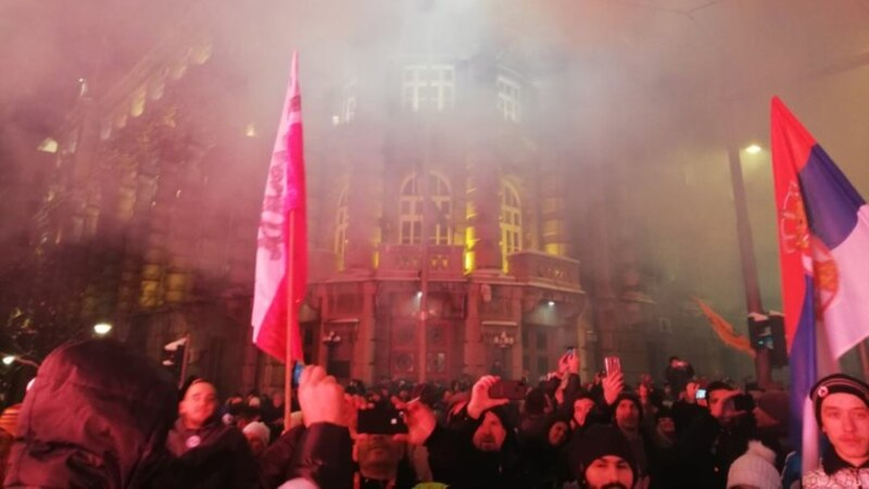 Belgrade, Other Serbian Cities Rally To Demand Vucic Step Down