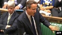 دیوید کامرون در مجلس عوام بریتانیا