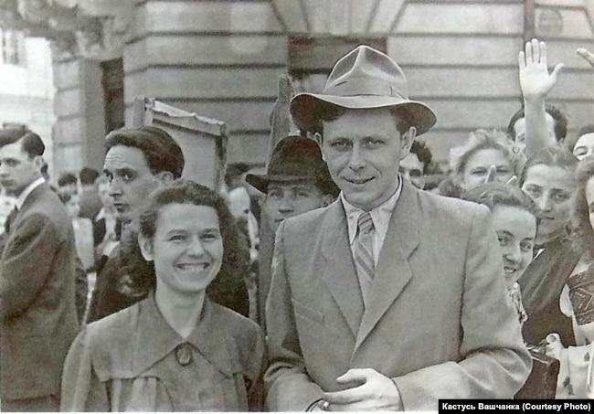 Гаўрыла Вашчанка з жонкай