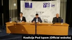 Pres-konferencija Koalicije Pod lupom, 15. novembar