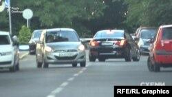 Автомобіль, яким користується Коломойський, заїхав до Міністерства внутрішніх справ Авакова