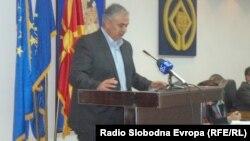 Градоначалникот на Охрид Александар Петрески.